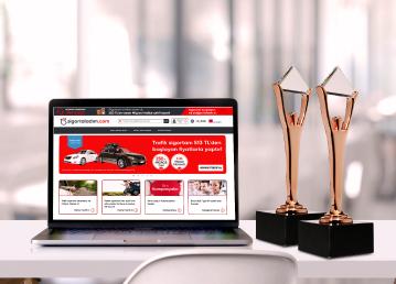 sigortaladım.com, Stevie Uluslararası İş Ödülleri'nde 2 Ödül Birden Kazandı!